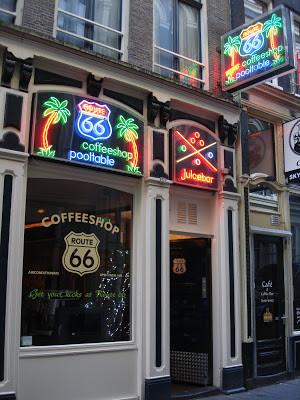 Coffeeshop Weedshop Route 66 Amsterdam