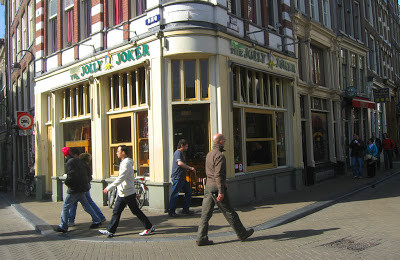 Coffeeshop Weedshop The Jolly Joker Amsterdam
