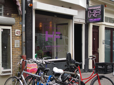 Coffeeshop Weedshop Happy Feeling Amsterdam