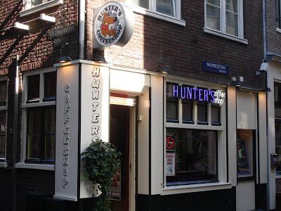 Coffeeshop Weedshop Hunters Amsterdam