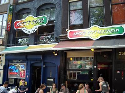 Rick's Coffeeshop Weedshop Amsterdam