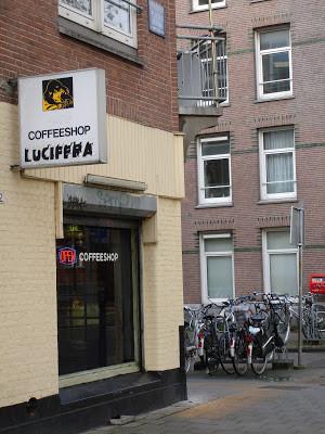Coffeeshop Weedshop Lucifera Amsterdam