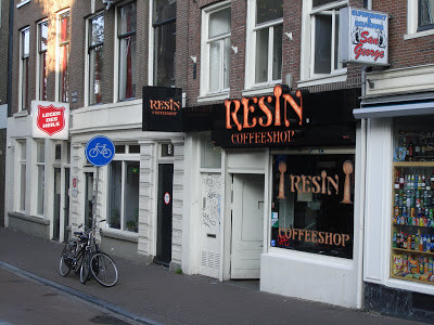 Coffeeshop Weedshop Resin Amsterdam