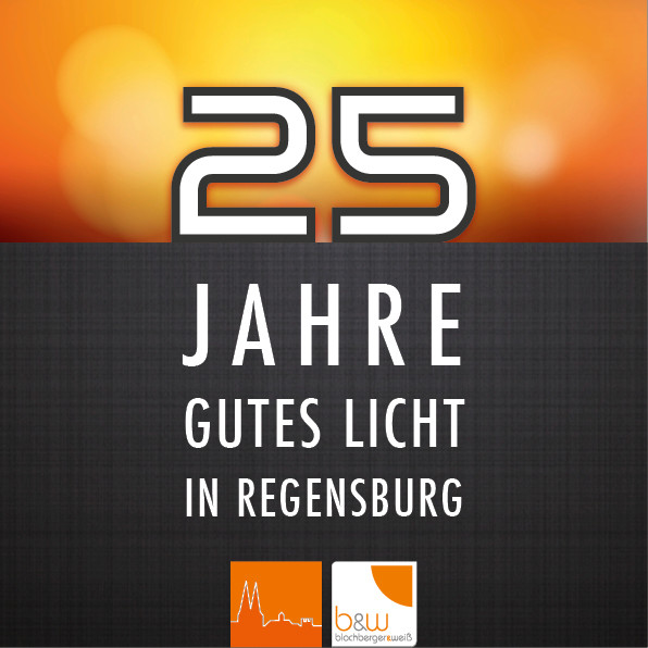 25 Jahre Blochberger & Weiß - Jubiläums Logo
