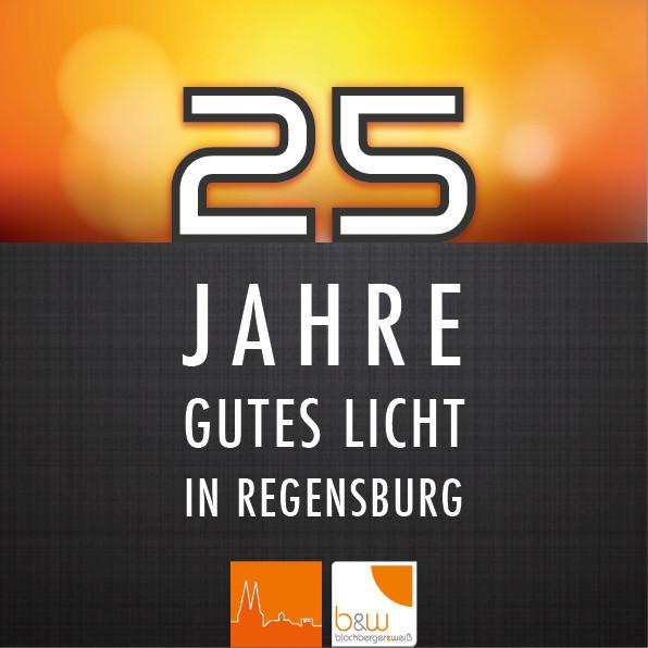 25 Jahre Blochberger & Weiß - Jubiläums Logo