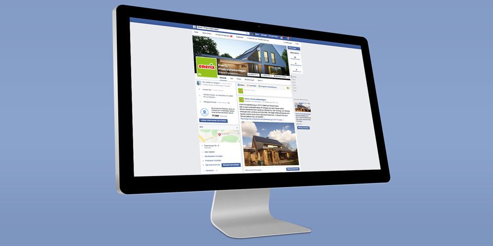 enerix facebook Seite