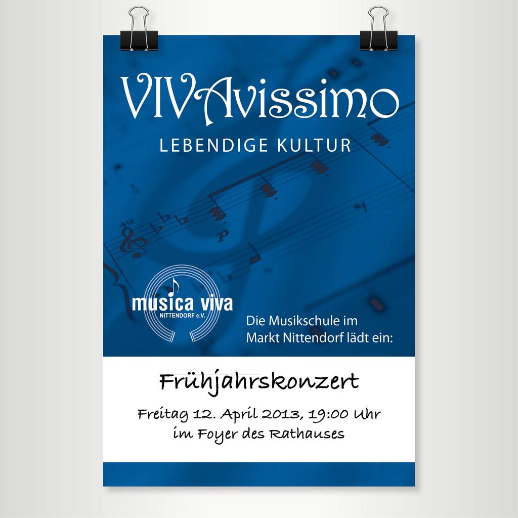 Musikschule Musica Viva - Plakat