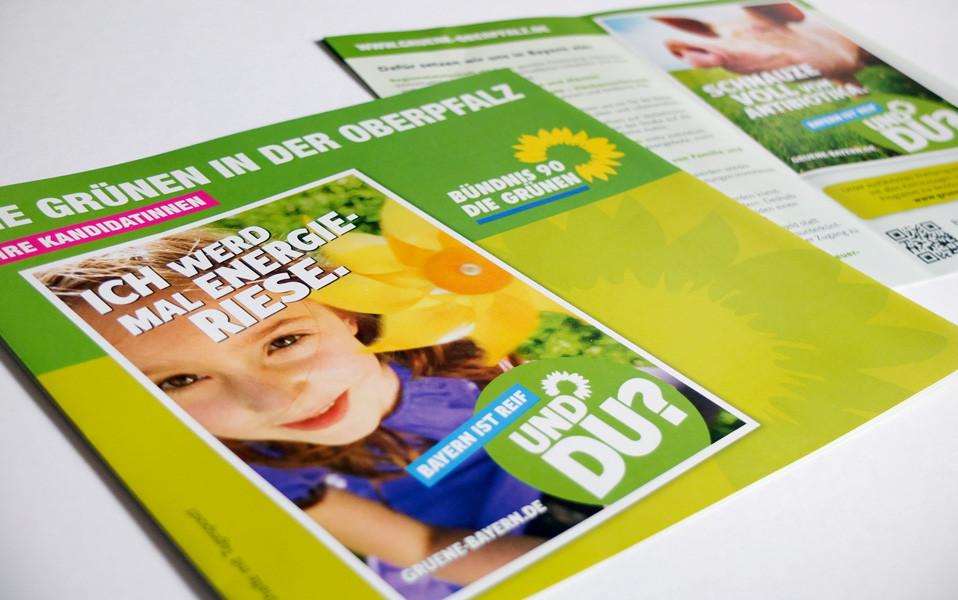 Bündnis 90 die Grünen - Flyer