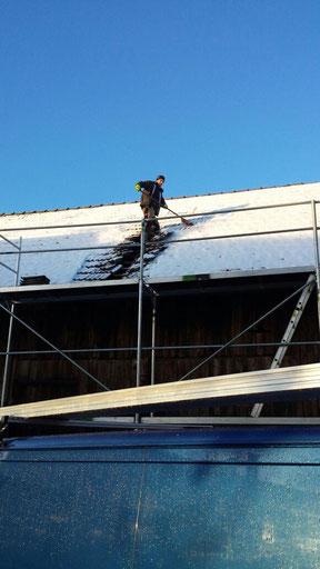 Solarenergie sehr schwach im Winter.