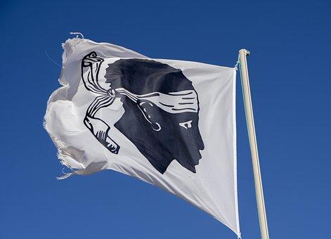 Flagge Korsika