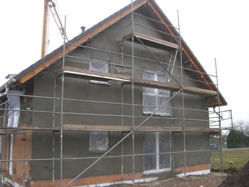 Gerüstbau Einfamilienhaus