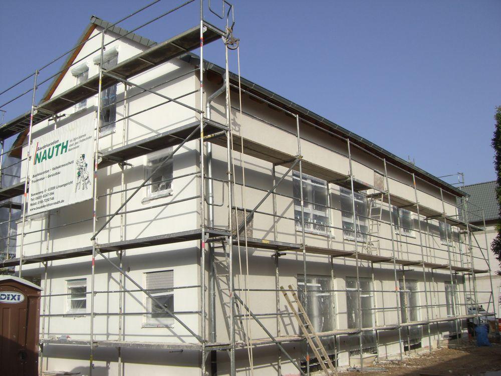 Gerüstbau Bürogebäude