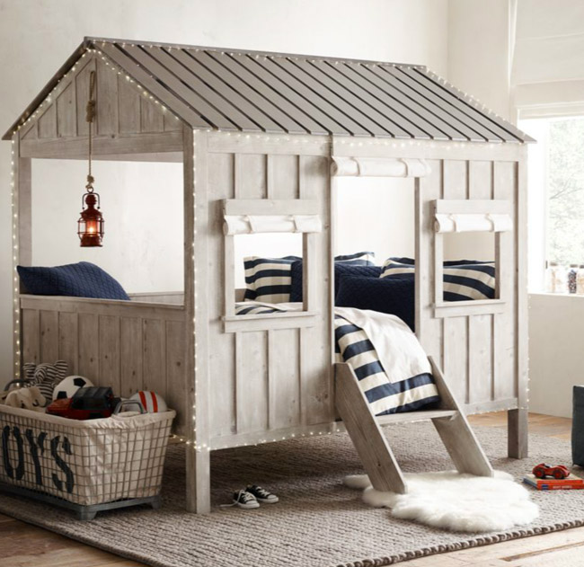 lit cabane pour enfant site de creationmobilier. Black Bedroom Furniture Sets. Home Design Ideas