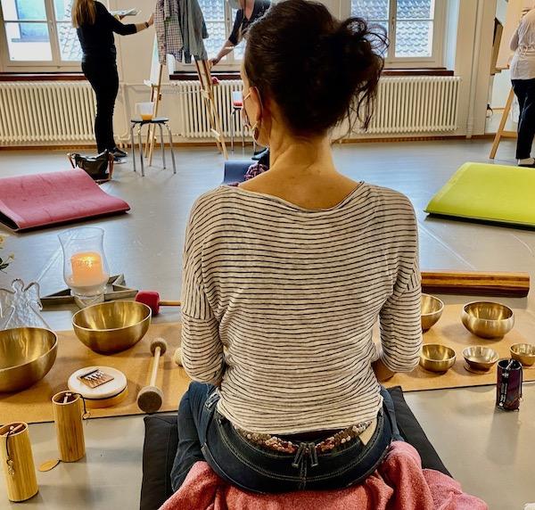 Simone Scheuner, KlangFarben Kurs in Akmaral Ballet Akademie, Schönenwerd