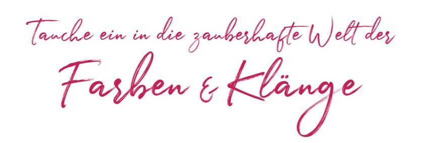Farben & Klänge mit Simone Scheuner, sasana Massage- & Klangpraxis u. Sabrina Zumstein, Mal- & Kunsttherapie