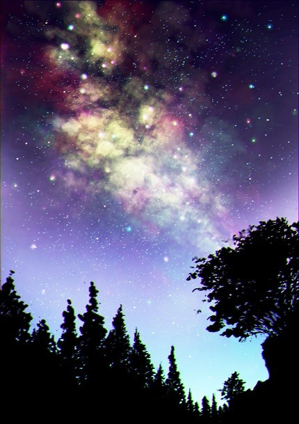 「星の夜」©ぱじゃまん