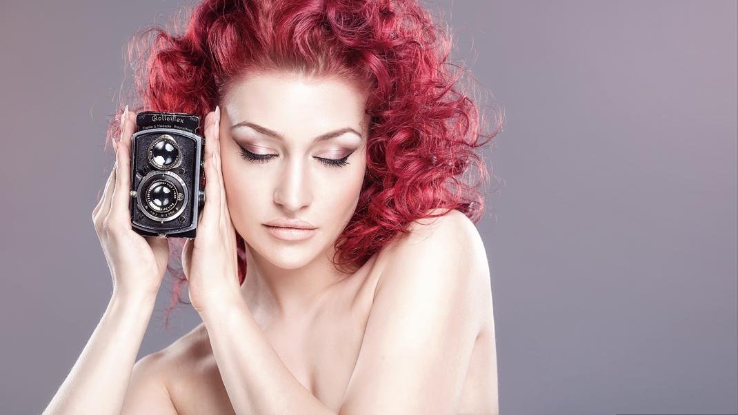 Two Beauties - Michelle & Baby Rolleiflex 4x4 - Markus Hertzsch - Camera - Girl