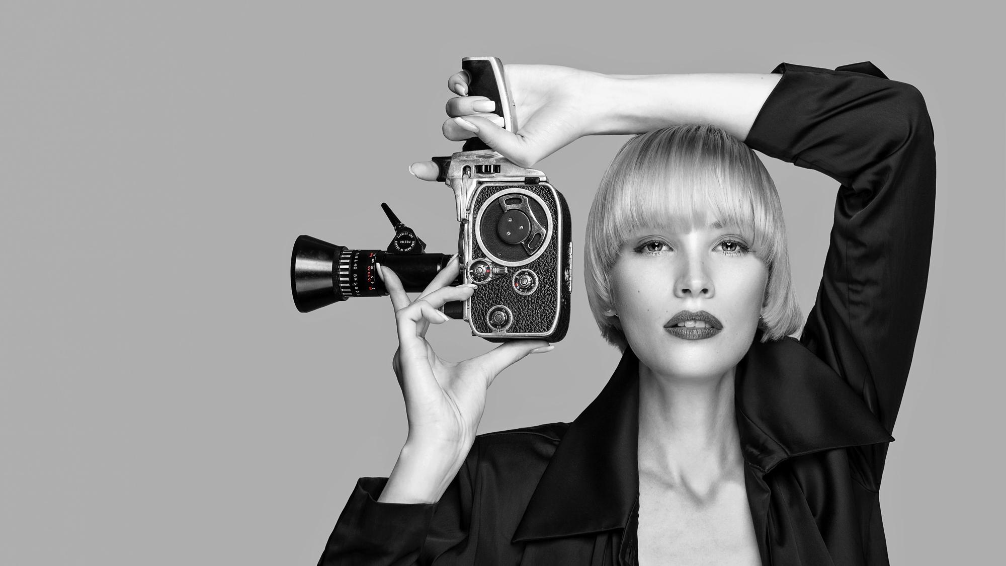 Two Beauties - Jane & Bolex Paillard 8mm