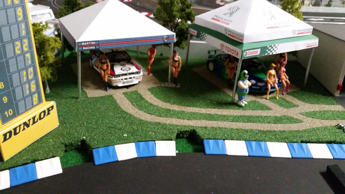 WRC-Fahrerlager