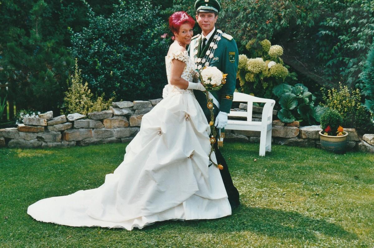 Königspaar 2001 Helmut Kemper und Petra Stöppel