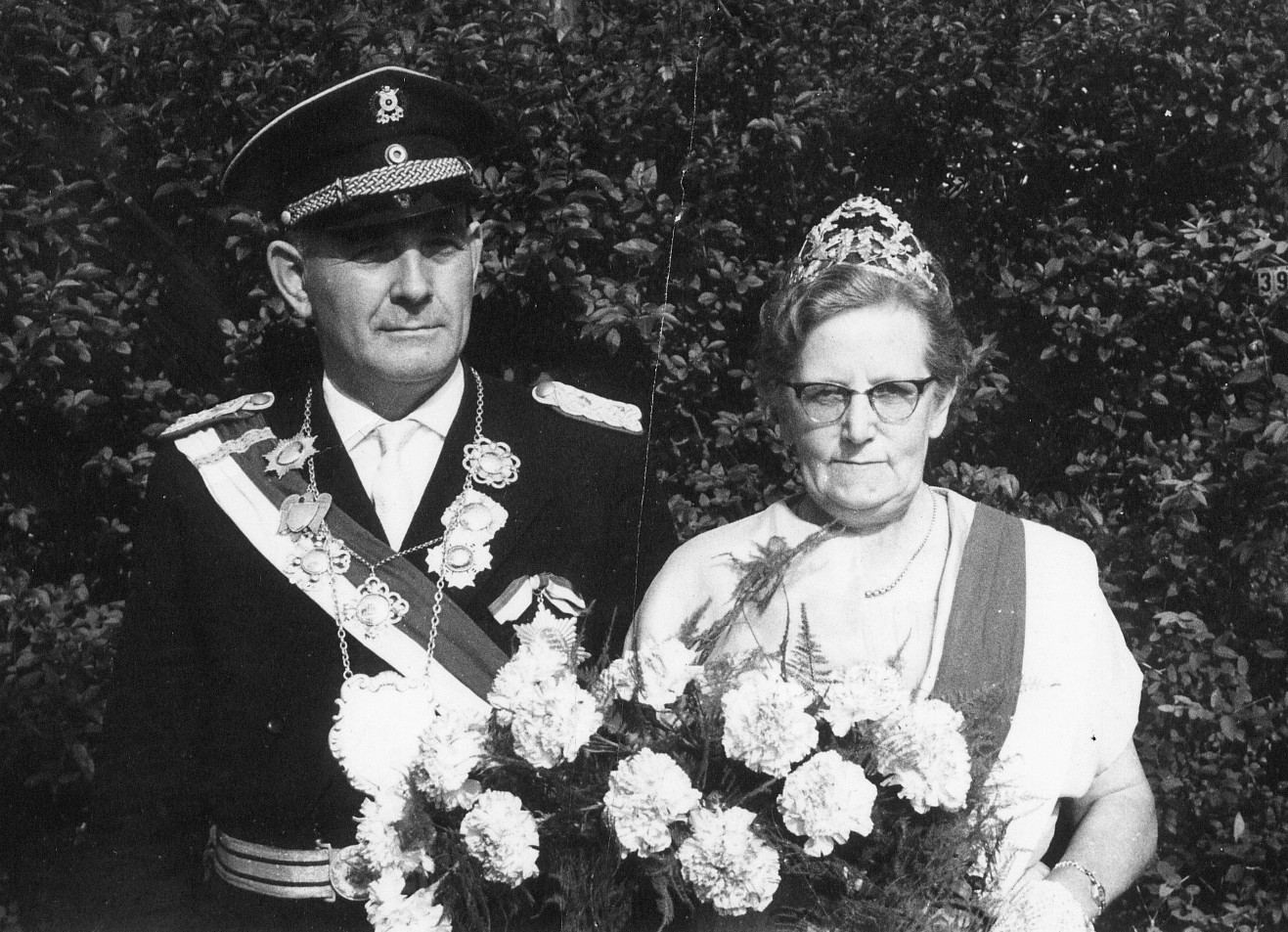 Königspaar 1961 Josef und Maria Döinghaus