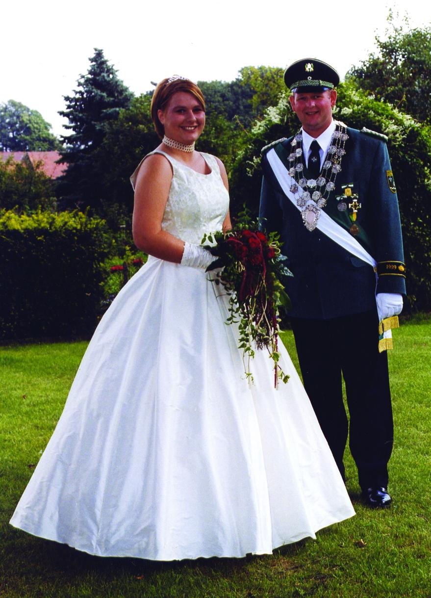 1999 Hubert Brökelmann und Birgit Rüsing (geb. Knapp)