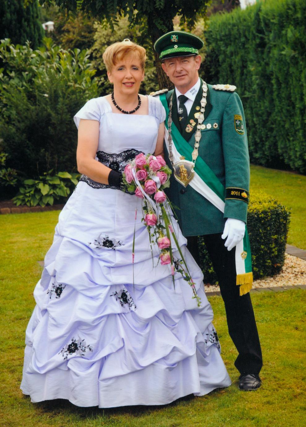 Königspaar 2011 Gerd und Rita Sasse