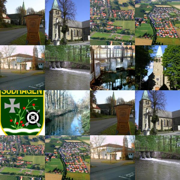Ansichten eines Dorfes