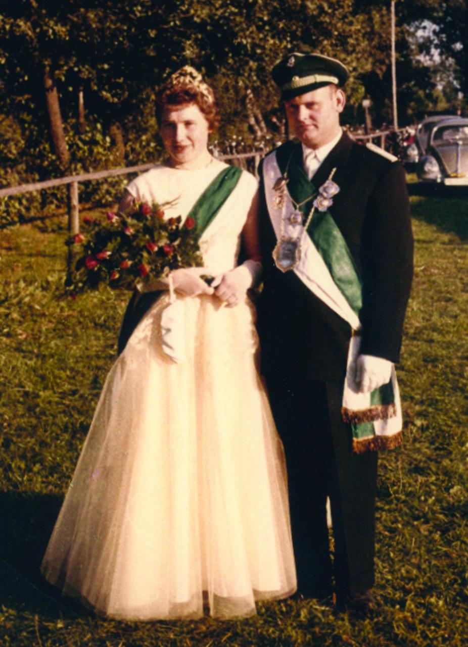 1959 Paul (+) und Änne Heinrichsrüscher