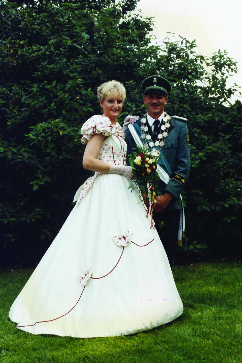Königspaar 1997 Alois und Birgit Niggemeier 20 Jahre