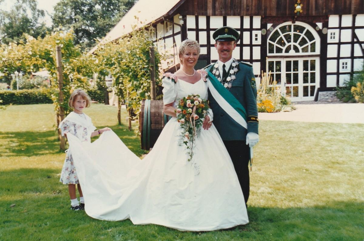 Königspaar 1996 Werner und Elisabeth Timmer