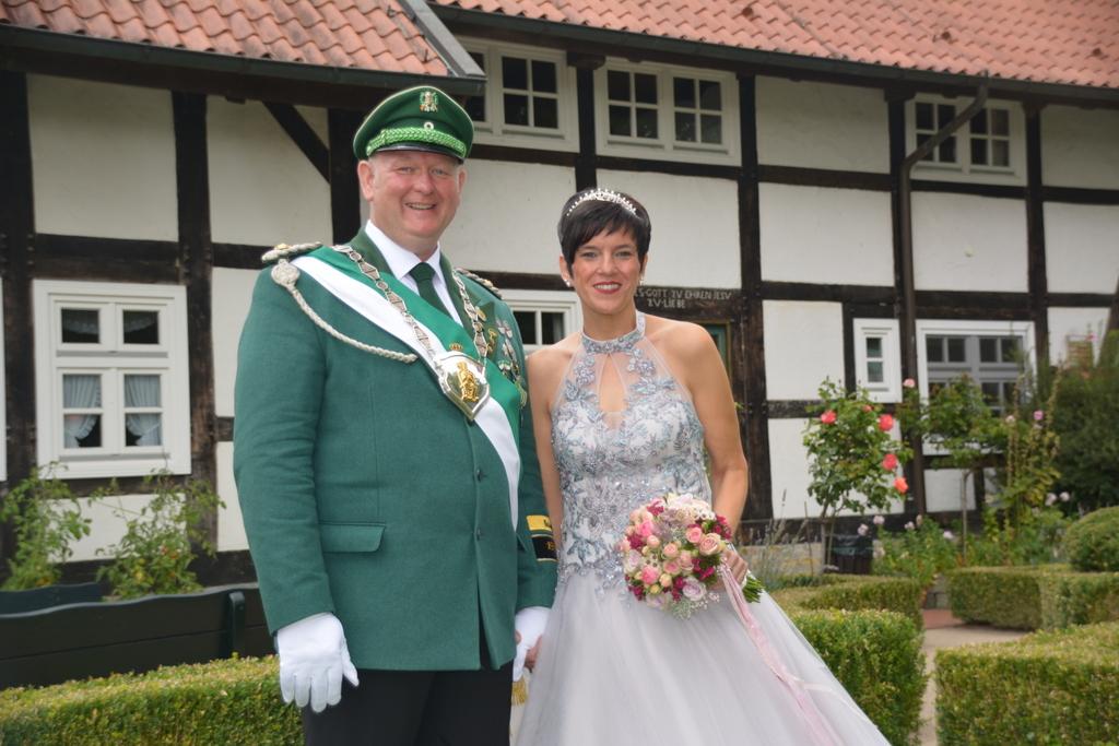 Kaiserpaar Hubert und Anja Brökelmann
