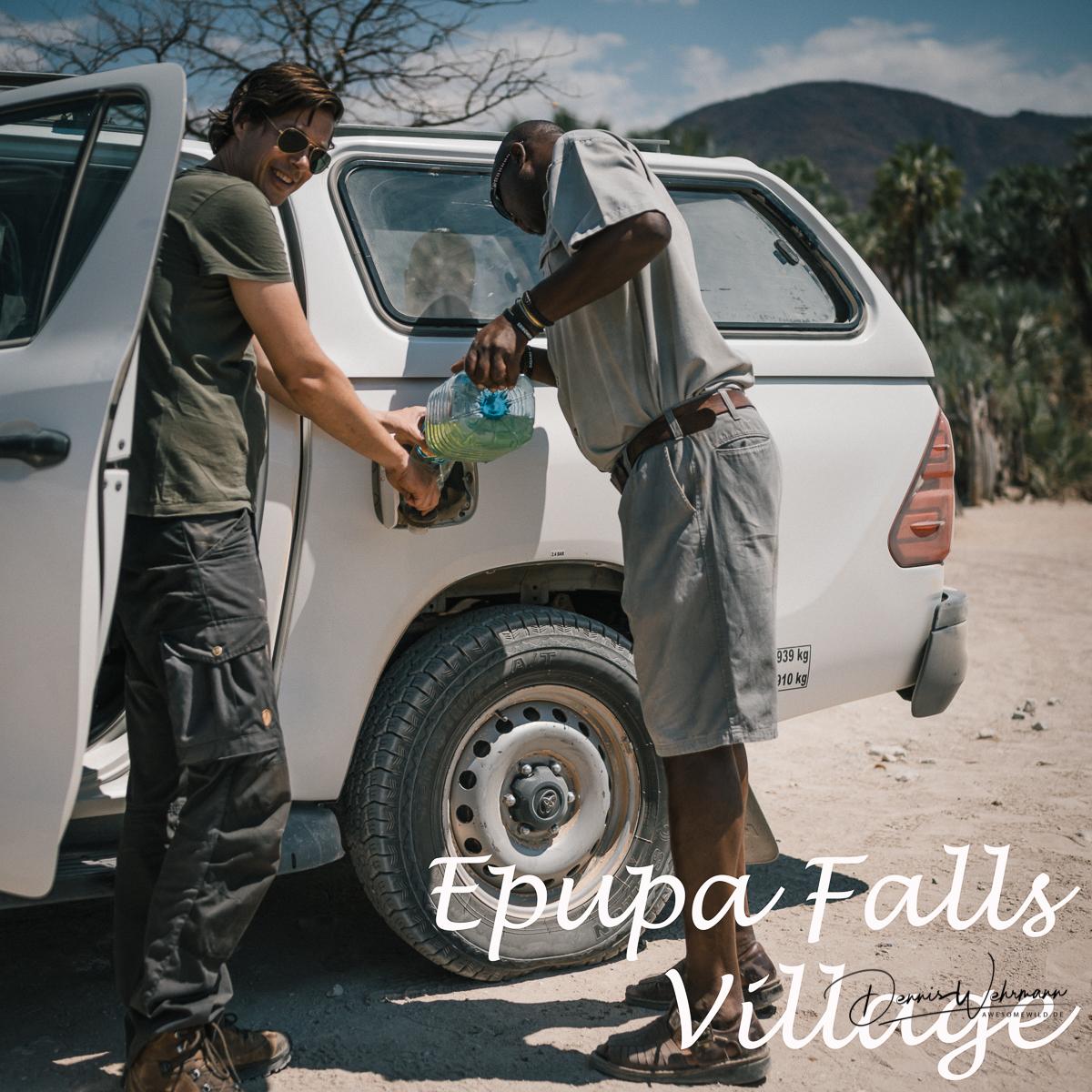 das leben der himba im Epupa Falls village