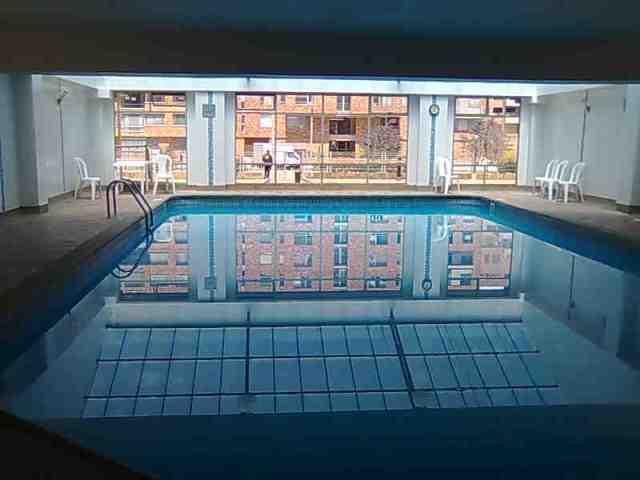 piscina climatizada cubierta