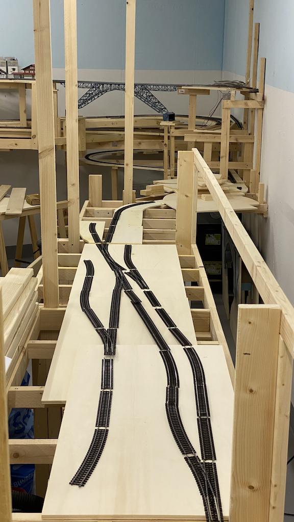 Gleisplan Modelleisenbahnanalge Rangierbahnhof