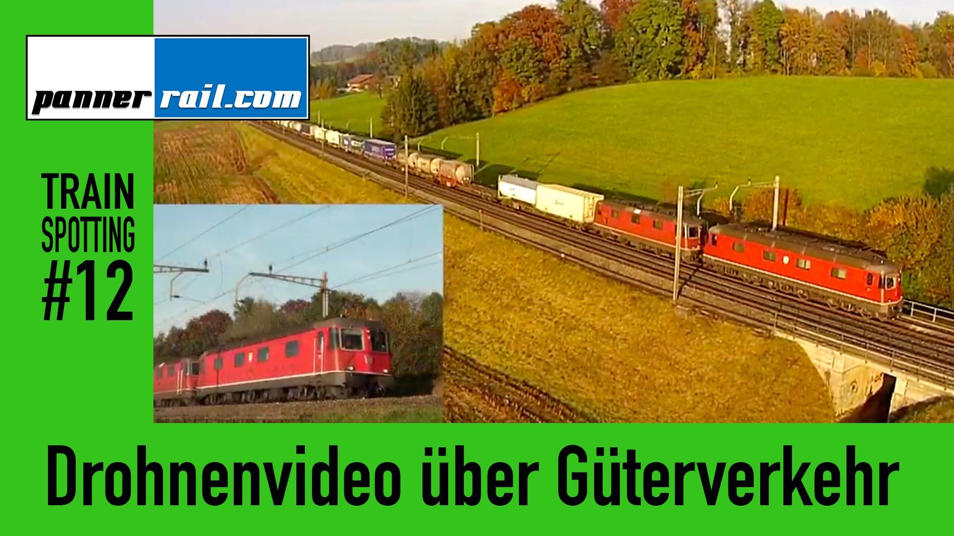 #8 Moba-Blog: Drohnenaufnahmen der Strecke Rotkreuz - Oberrüti
