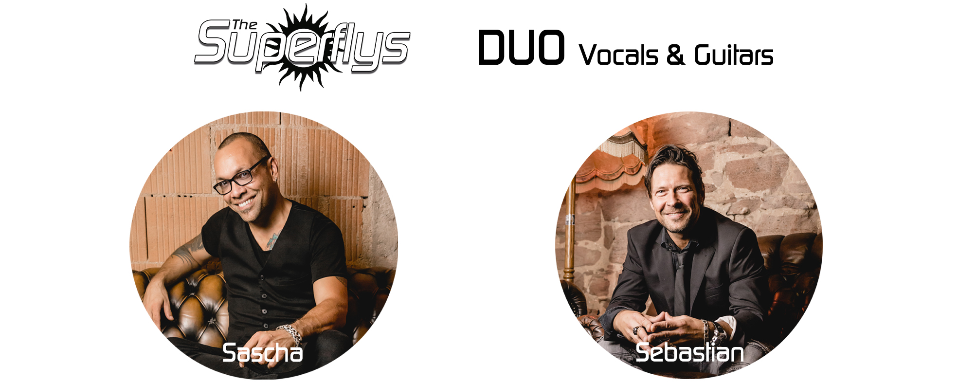 The Superflys - Duo - Vocals & Guitar