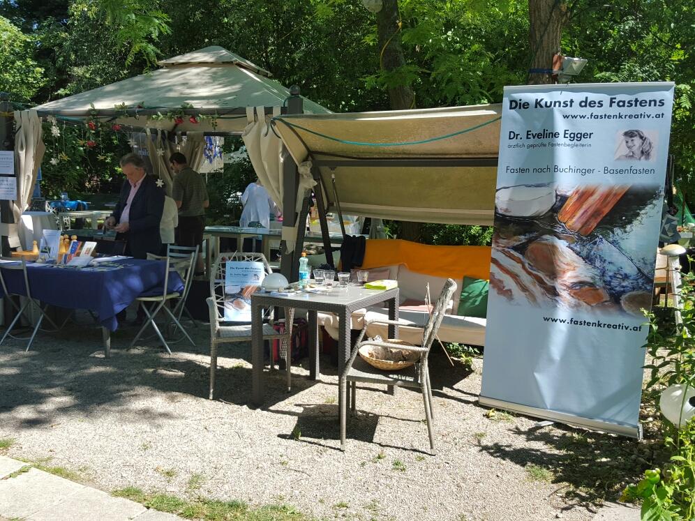 Stand im Garten Montmartre Dornbach 2016