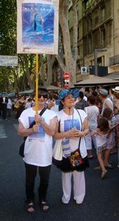 La Grande Parade du Festival OFF d'Avignon 2013 - le 7 juillet 2013 - 33° sous un ciel Bleu Azur !!!