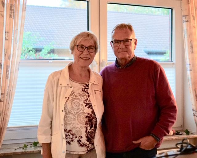 Ingeborg von Malottki und Wulf Clausen