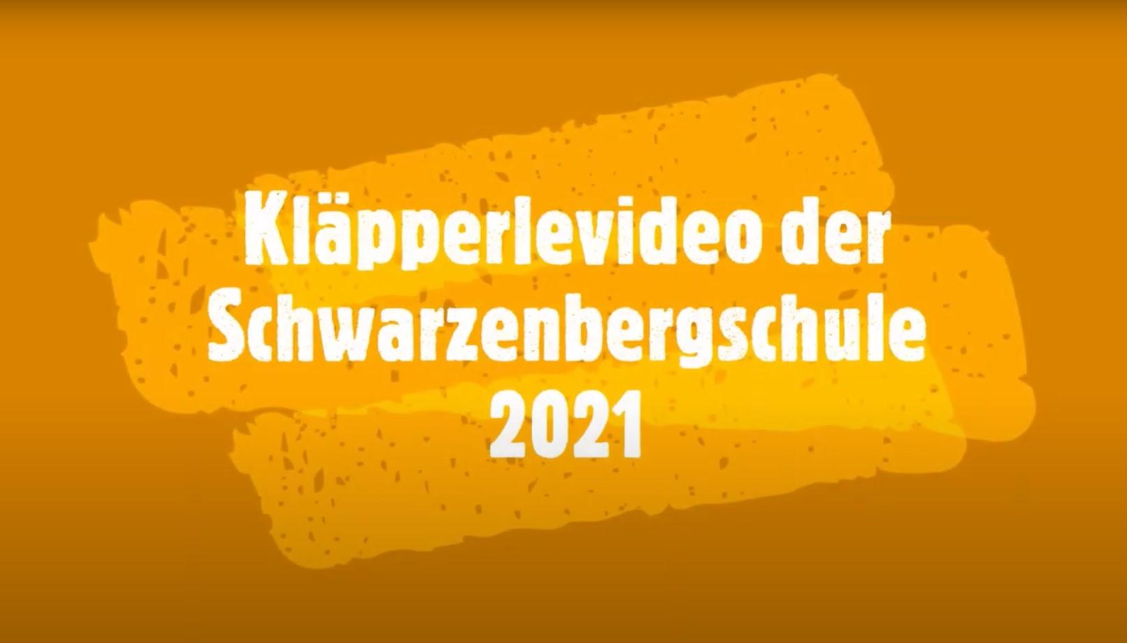 Kläpperlevideo der Schwarzenbergschule