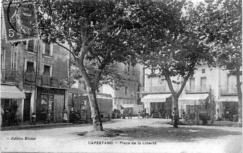 21 avril 1907 à Capestang