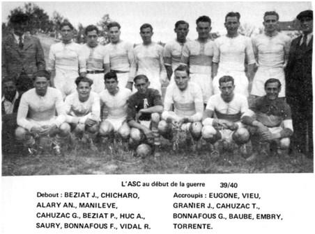 André Huc, joueur et dirigeant de l'ASC « au long cours »