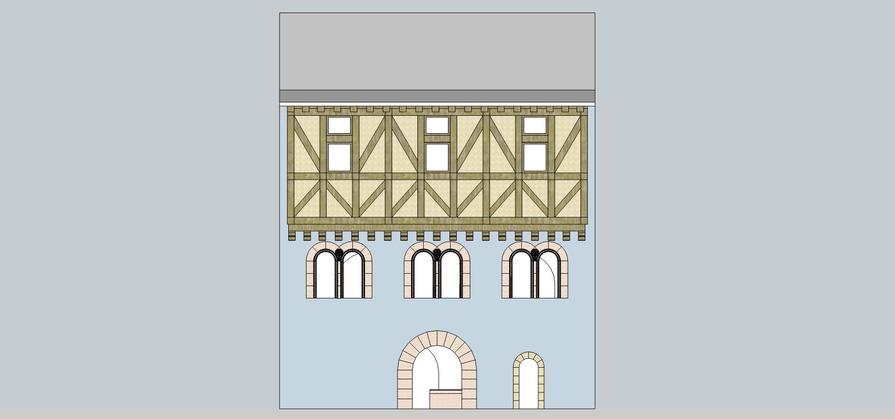 La maison romane du XIIème siécle
