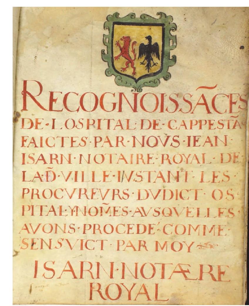 L'Hôpital St Jacques de Capestang,  quels liens avec les pèlerins du Camin Romieu au Moyen-Age ?