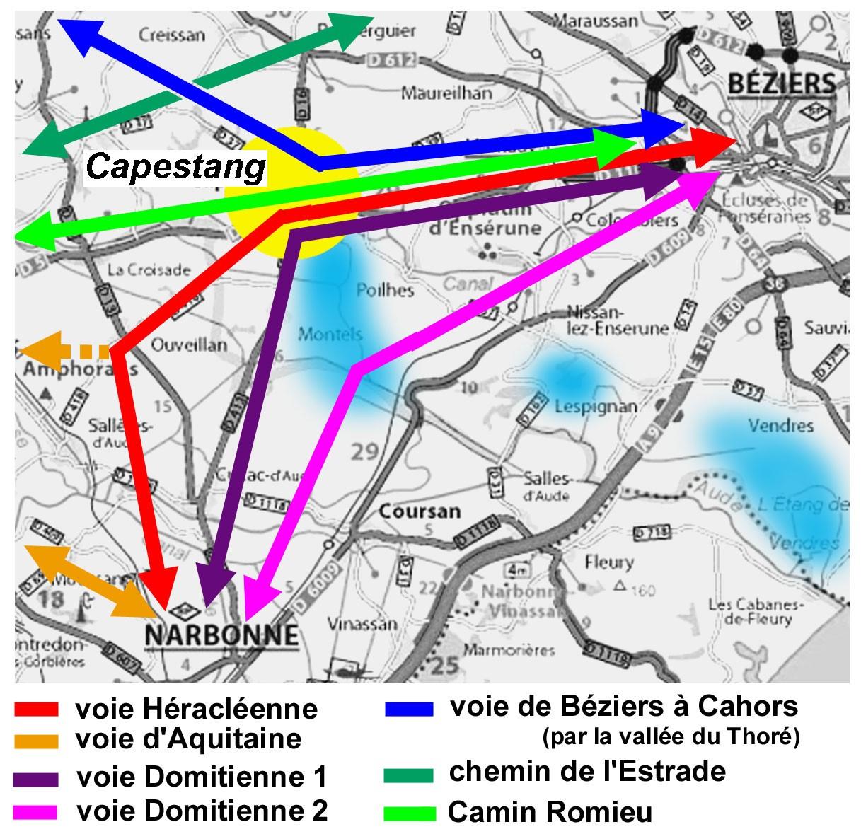 Capestang, un carrefour depuis l'Antiquité