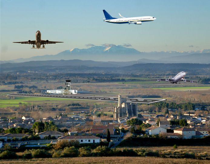 Un aéroport à Capestang