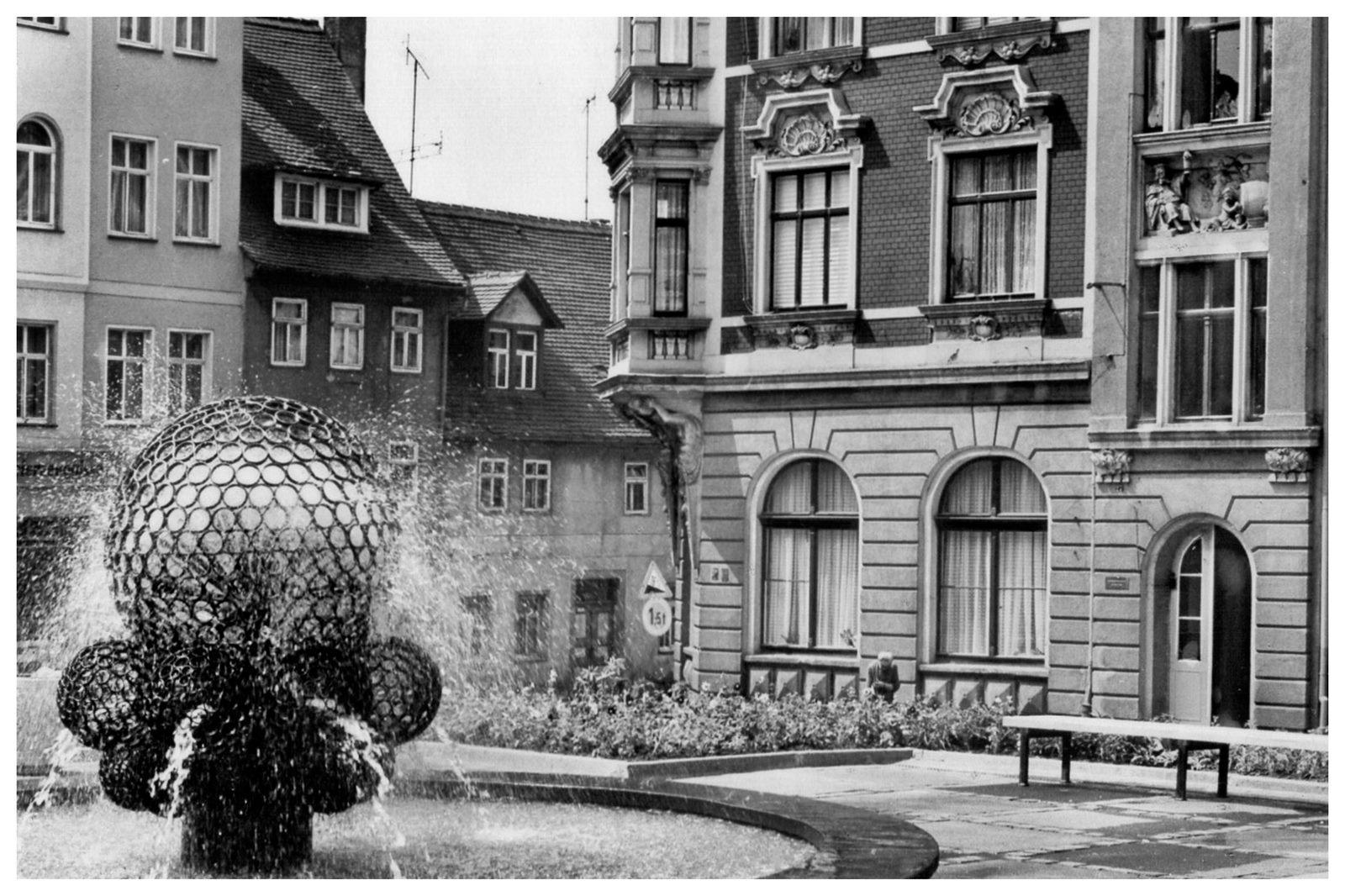 Zuckerpfad Station 6 - Der Neumarkt - Zeitz Meine Region