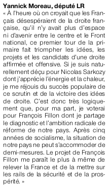 Article Ouest-France du 23 novembre 2016