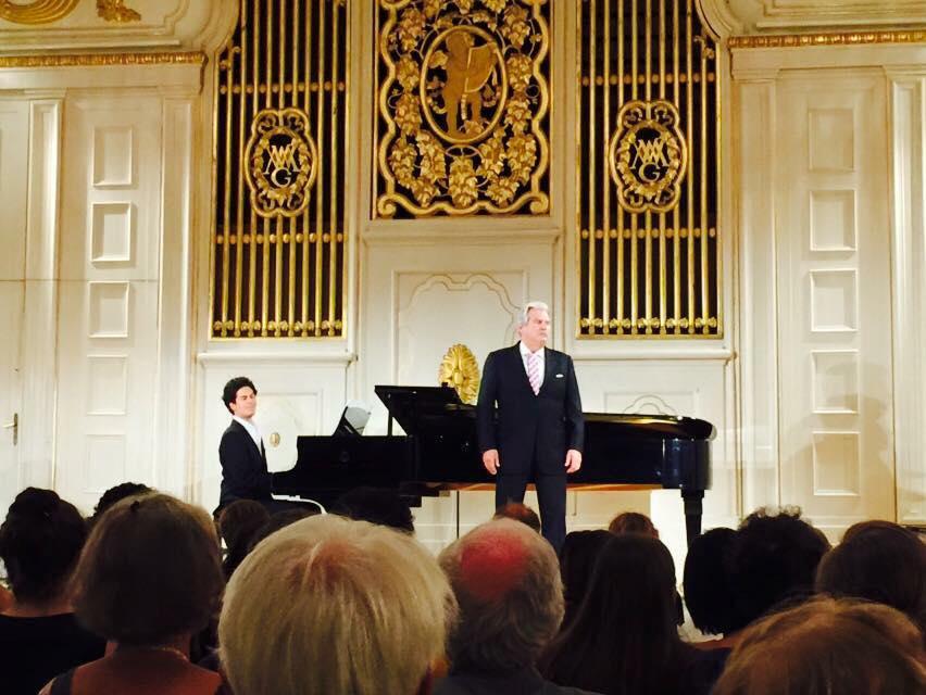 Dichterliebe with Wolfgang Brendel - Mozarteum Salzburg